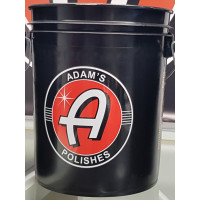 Adam's 5 Gallon Black Detailing Bucket