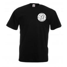 Adam's Black T-Shirt Logo Uni.ch
