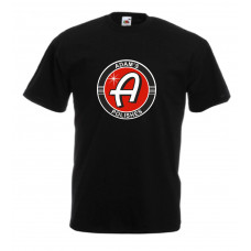 Adam's Black T-Shirt Color Logo Center
