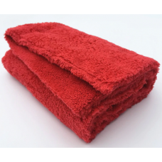 Adam's Borderless Red Edgeless Towel