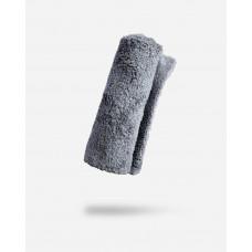 Adam's Borderless Grey Microfiber Towel